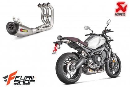 Akrapovic Fullsystem Titanium 3 Carbon For Yamaha XSR900